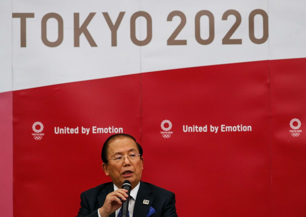 Tokyo 2020 chief executive Toshirō Mutō said it would be very encouraging if Shinzō Abe continues to help organisers with their preparations ©Getty Images