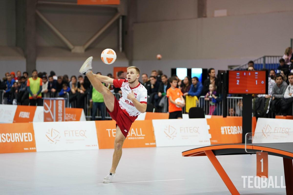 Duszak retains men's teqball singles top spot as world rankings resume