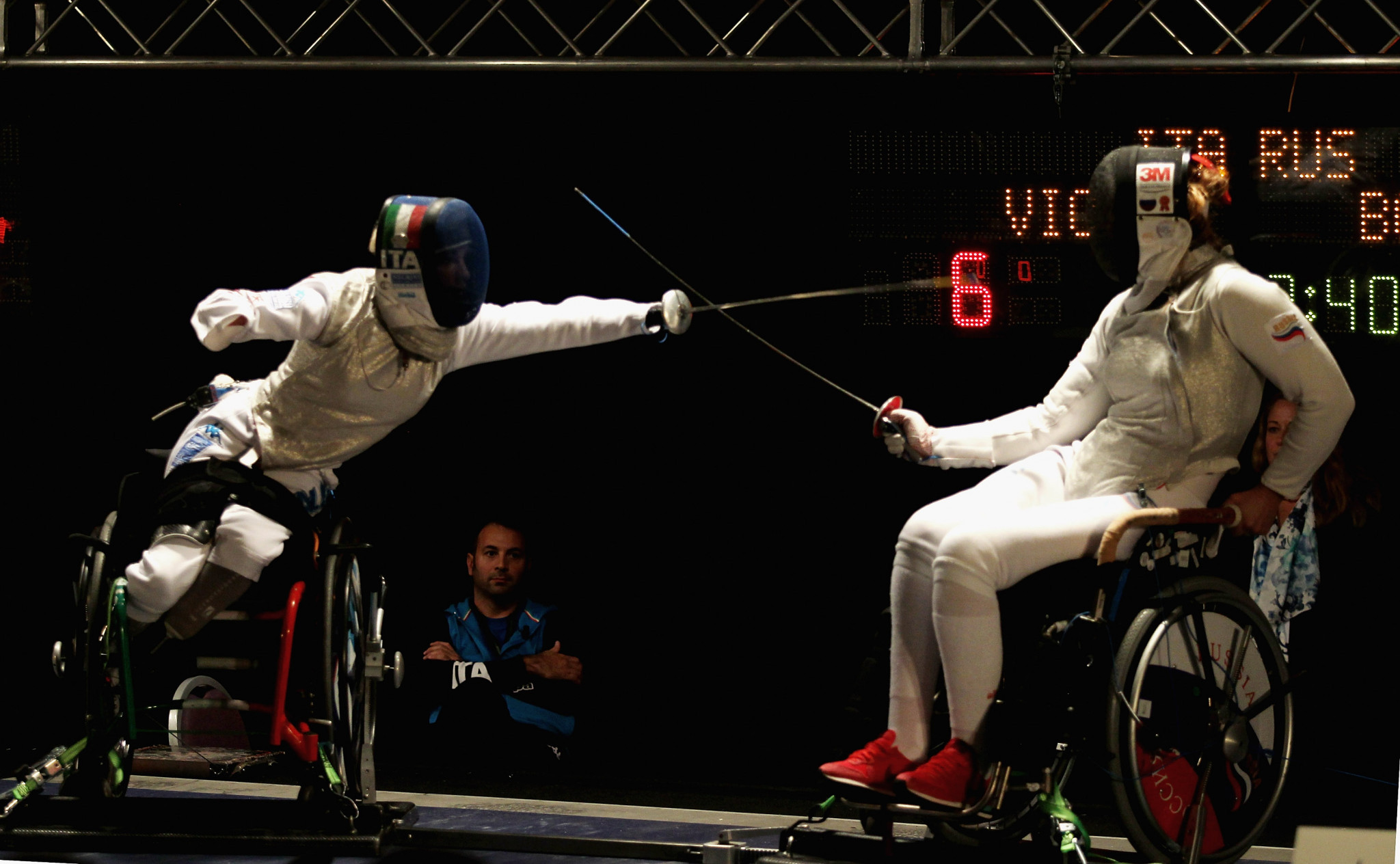 Wheelchair Fencing is among the seven sports that are set to feature at the IWAS World Games in Thailand ©Getty Images