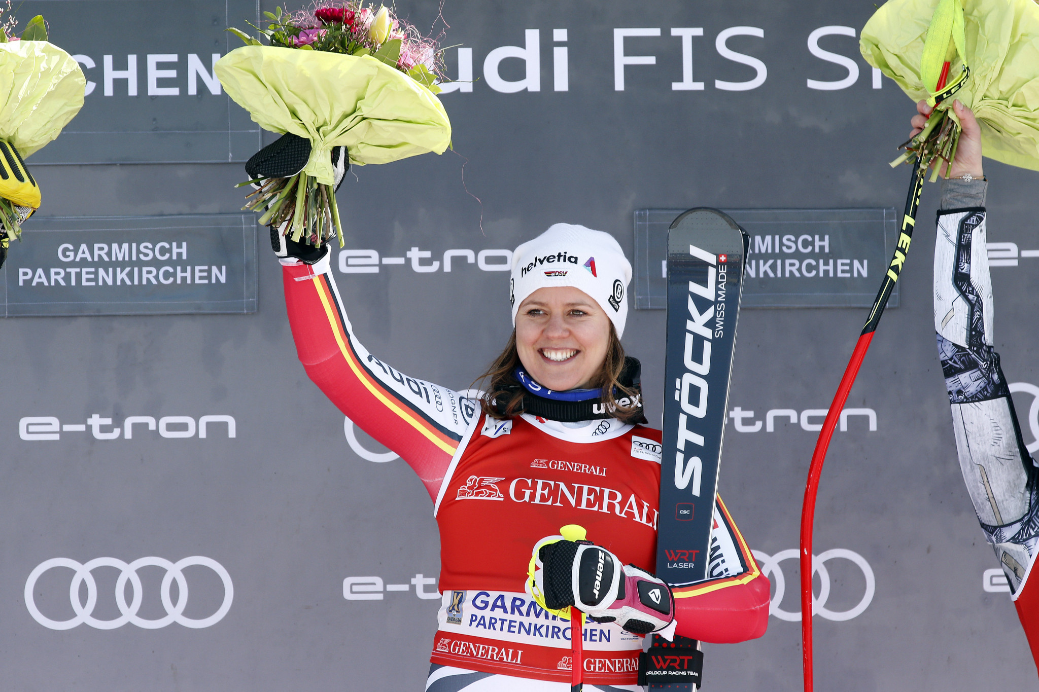 Former Olympic champion Rebensburg calls time on skiing career aged 30