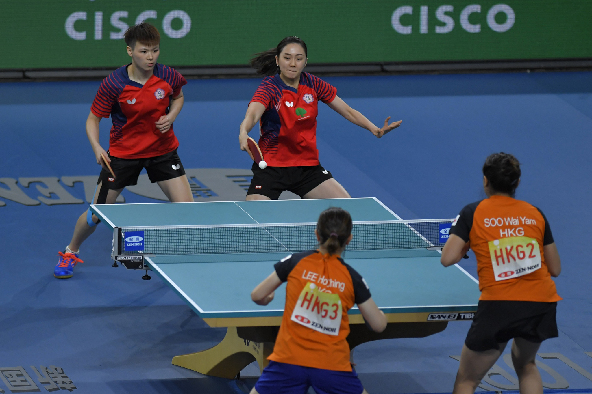 The ITTF rankings have been frozen since April due to the COVID-19 pandemic ©Getty Images