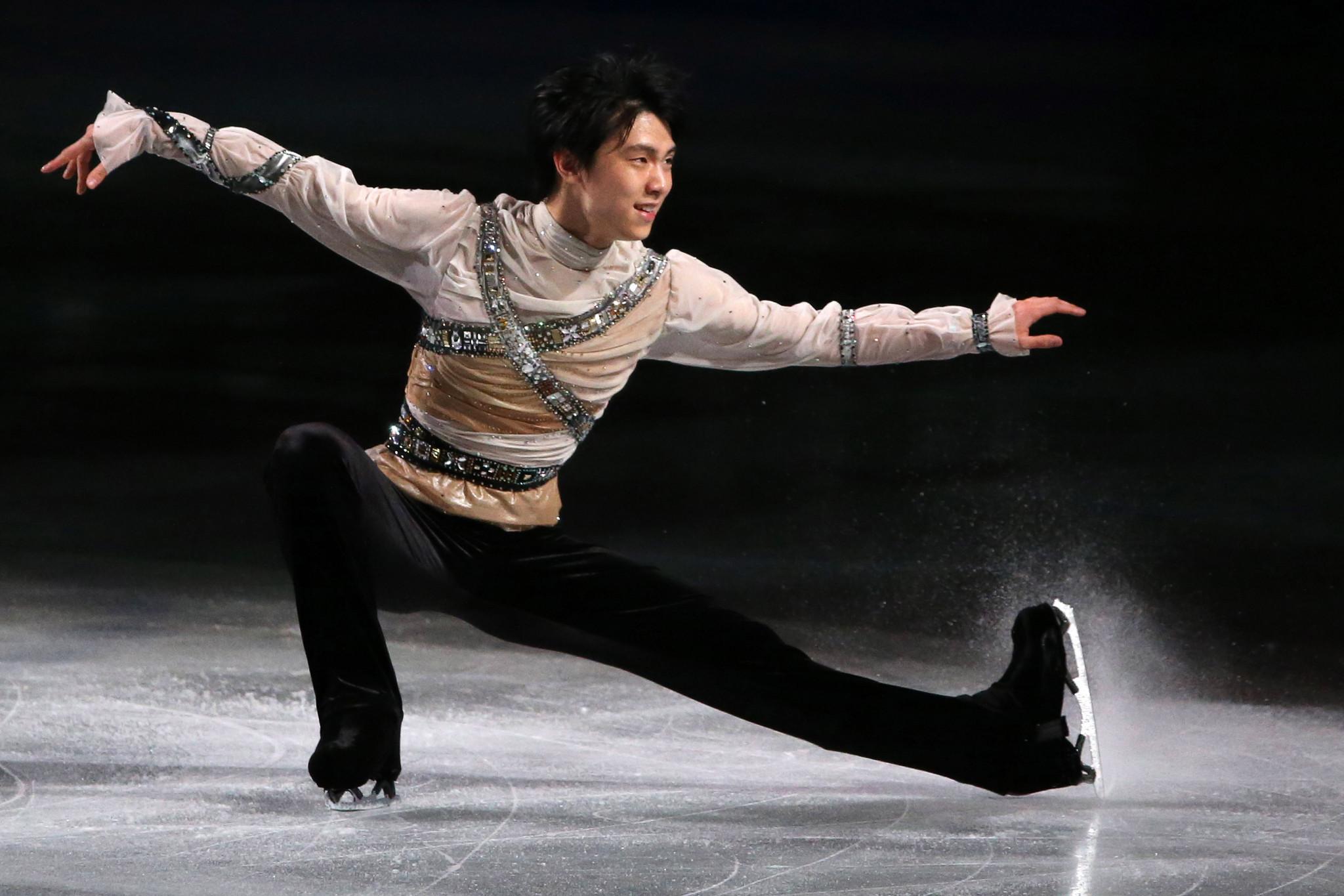Yuzuru Hanyu won the men's singles title in Saitama in 2014  ©Getty Images