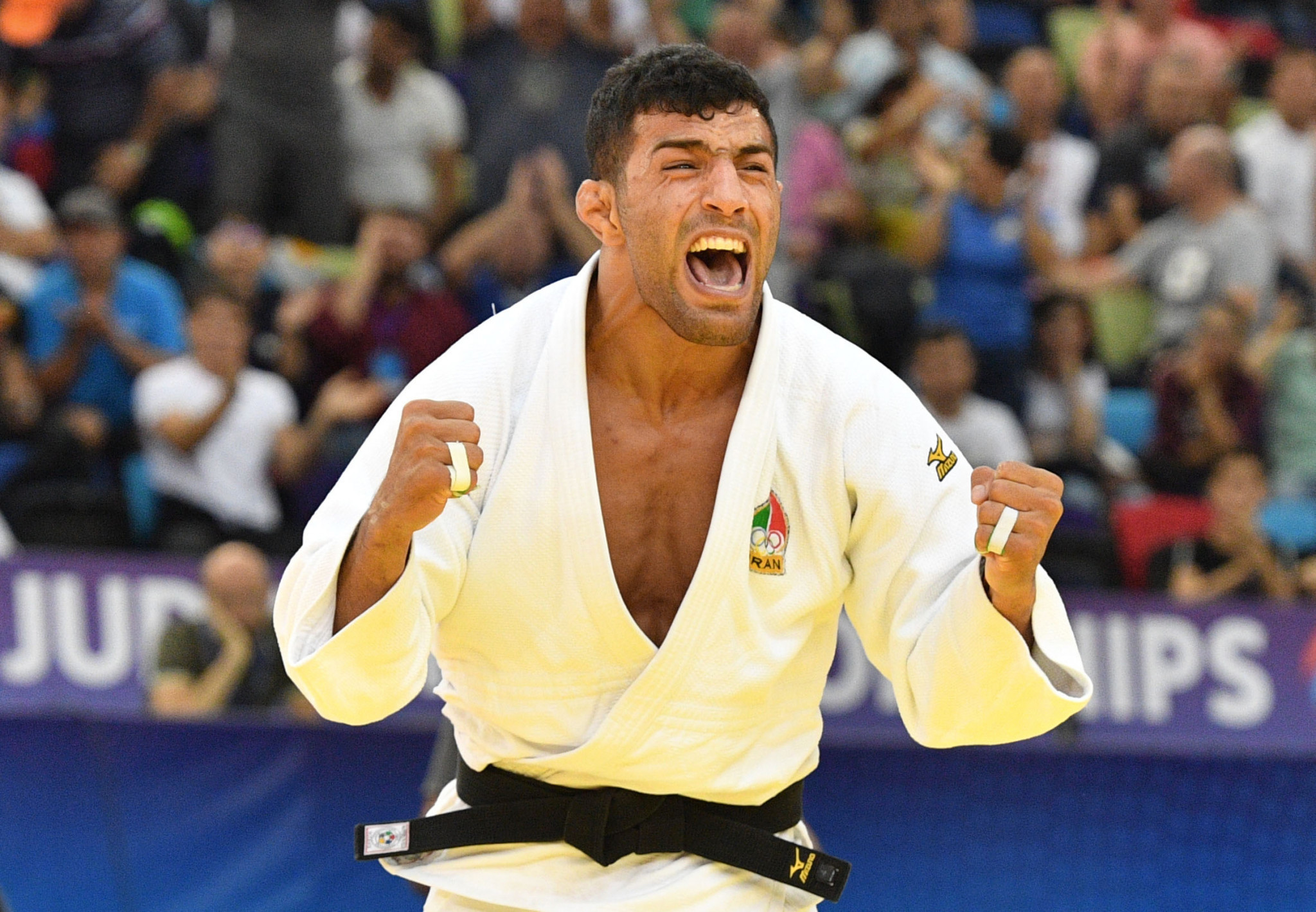 Iran is trying to intimidate its former world champion Saeid Mollaei ahead of a crucial case at the Court of Arbitration for Sport where they are appealing against an International Judo Federation suspension ©Getty Images