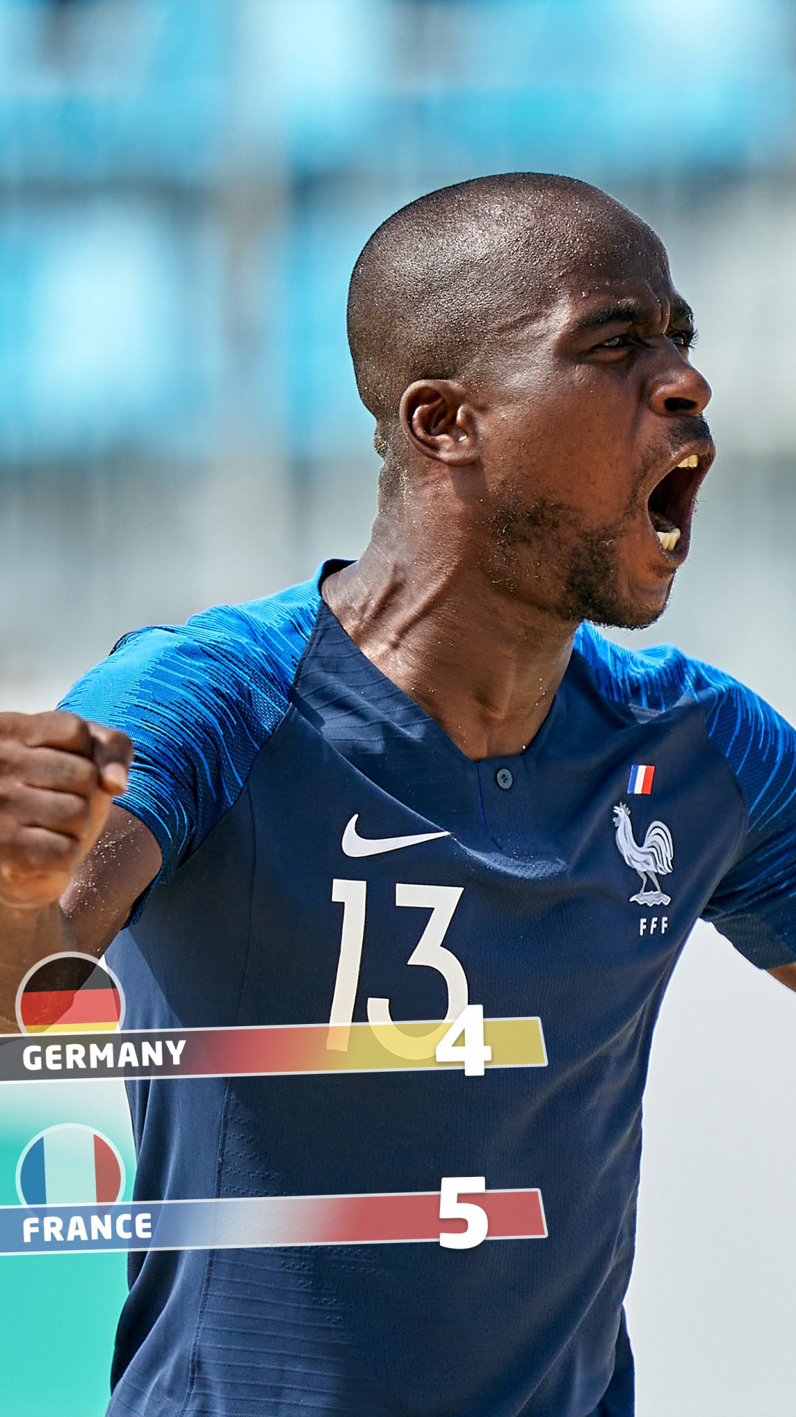 France record first win at Euro Beach Soccer League Superfinal