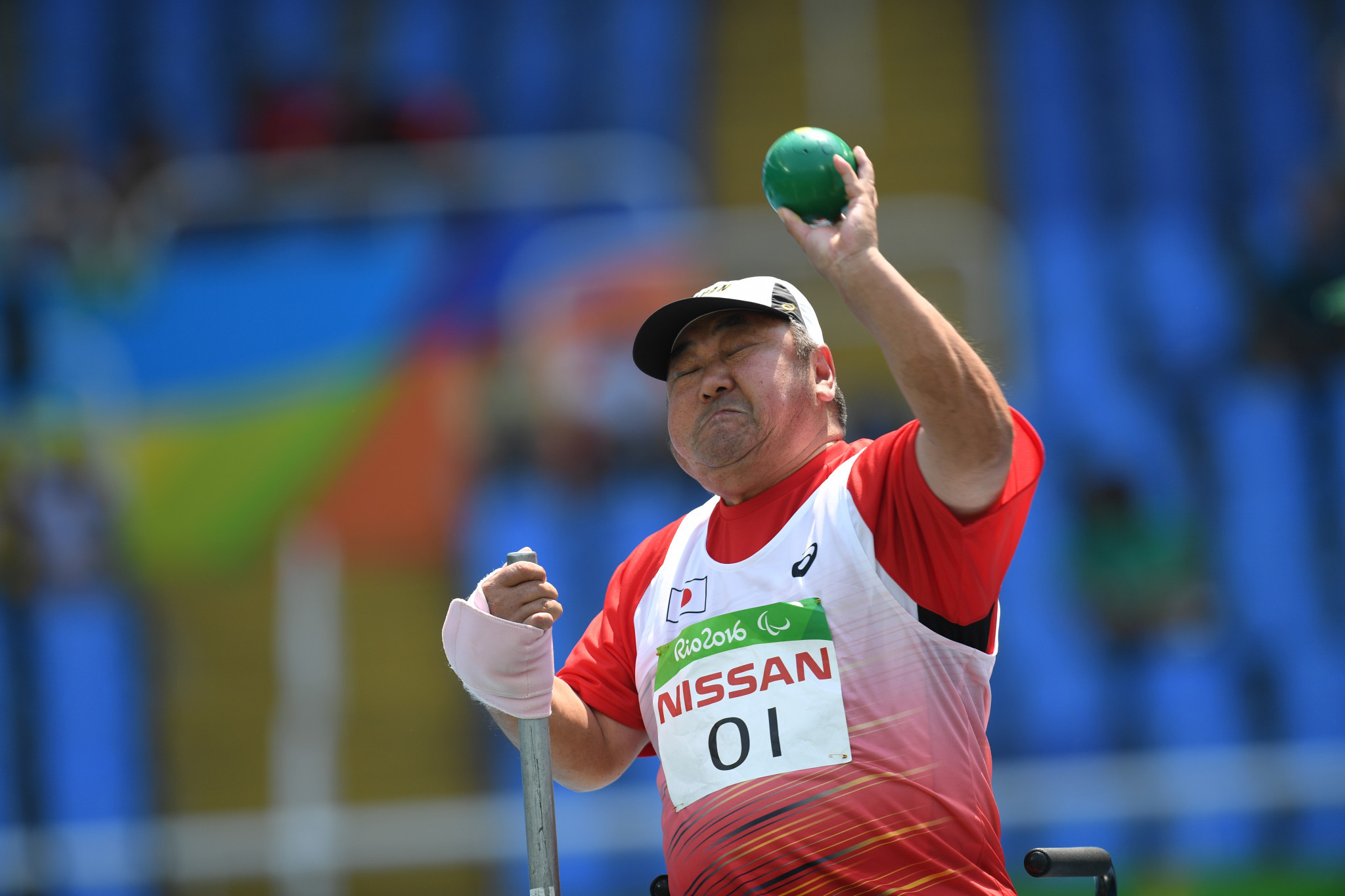 Shot putter Toshie Oi, who has yet to secure his place at Tokyo 2020, has decided to skip the Japan Para Athletics Championships ©Getty Images