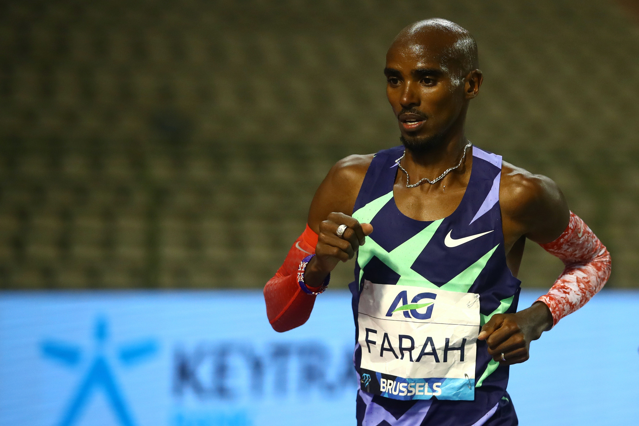Farah and Hassan set one-hour world records at Brussels Diamond League meeting