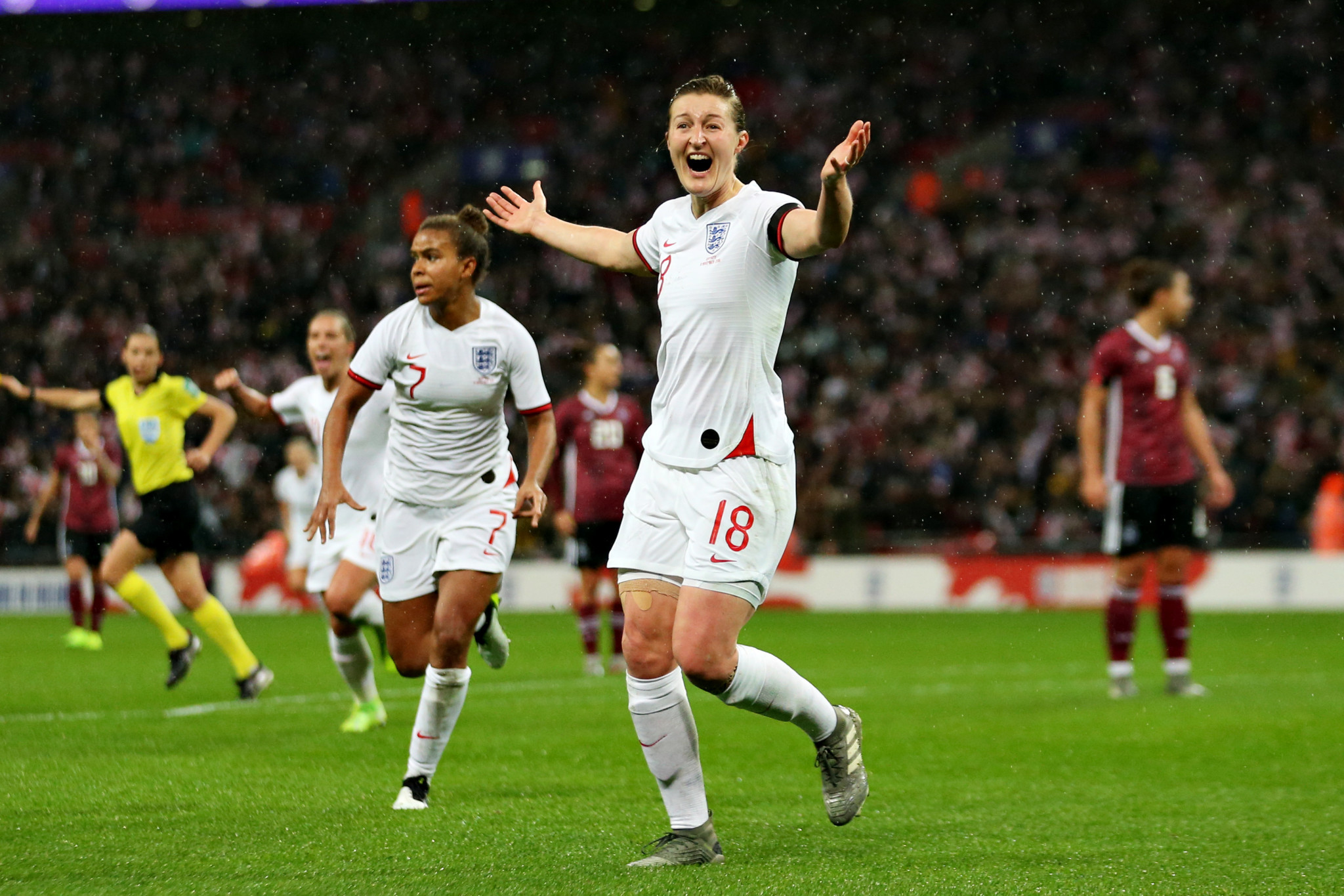The English Football Association confirmed England women's is to be paid the same rate as their male counterparts ©Getty Images