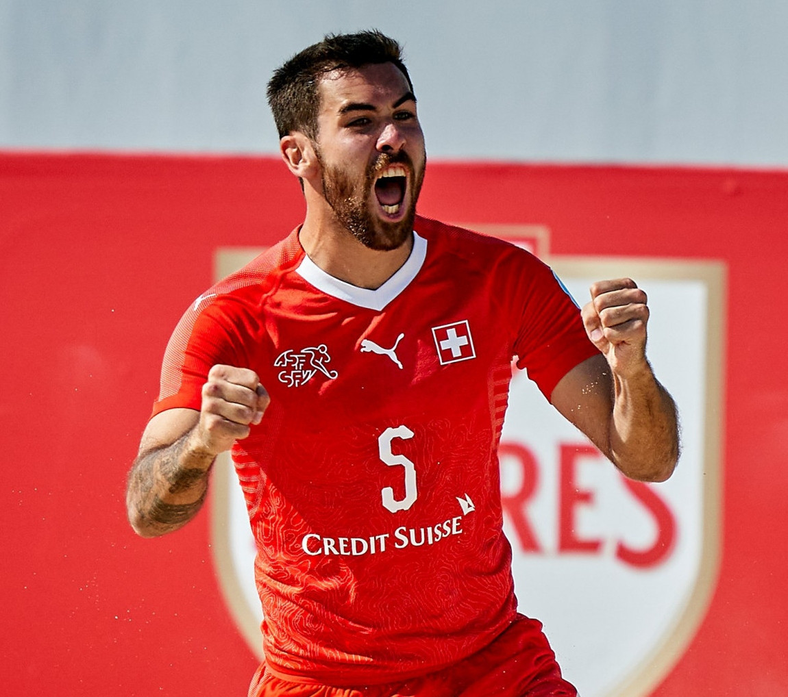 Switzerland and Portugal remain unbeaten at Euro Beach Soccer League Superfinal to set-up thrilling climax