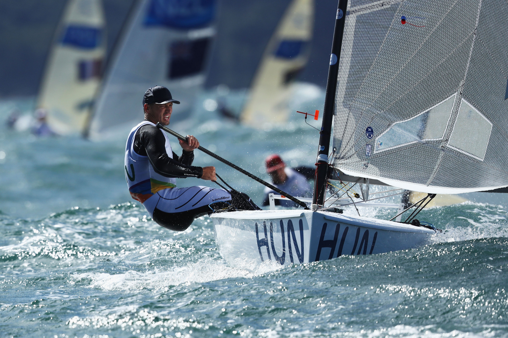 Berecz takes pole position with one day left at Finn European Championships