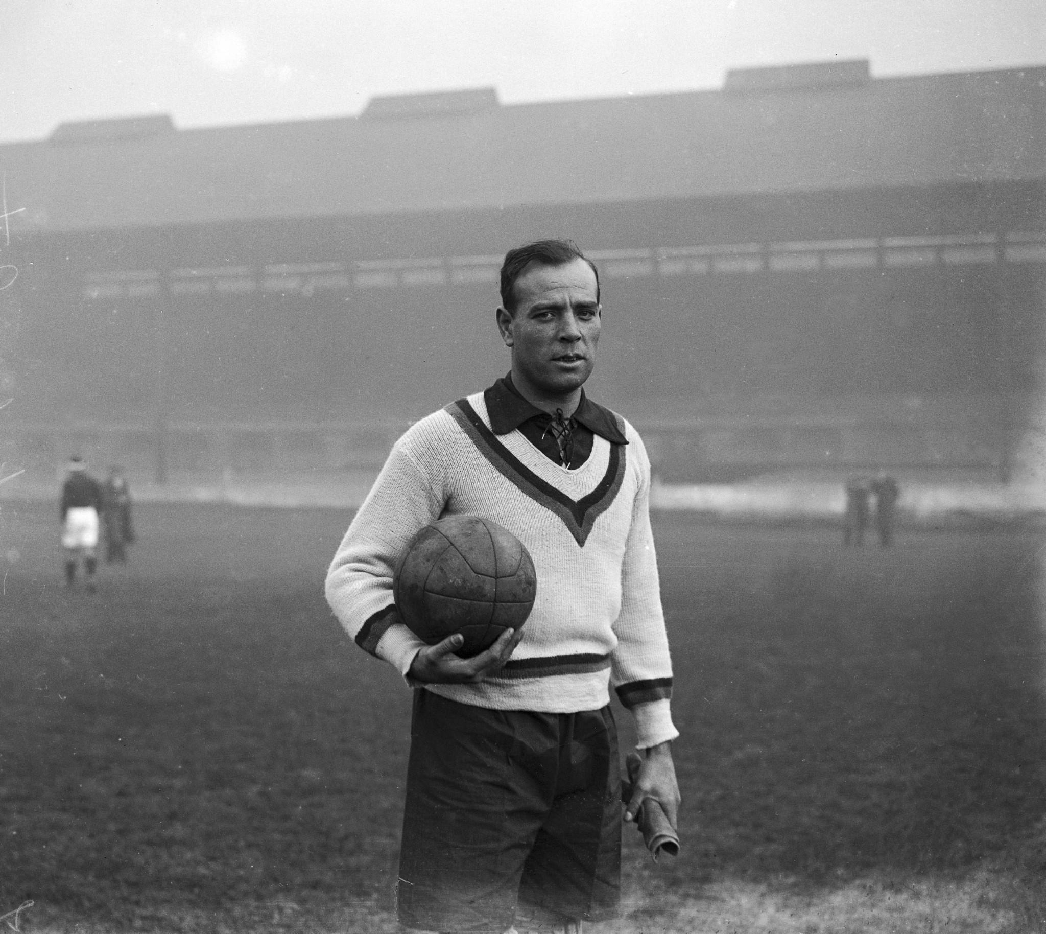 A later image of legendary goalkeeper Ricardo Zamora ©Getty Images