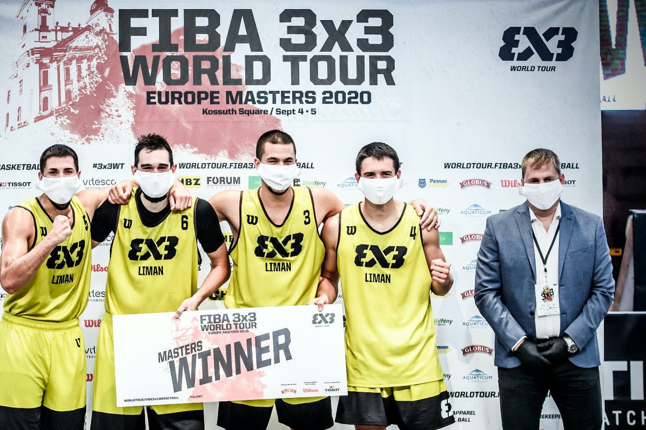 Liman bounce back from shaky start to win 3x3 World Tour Europe Masters