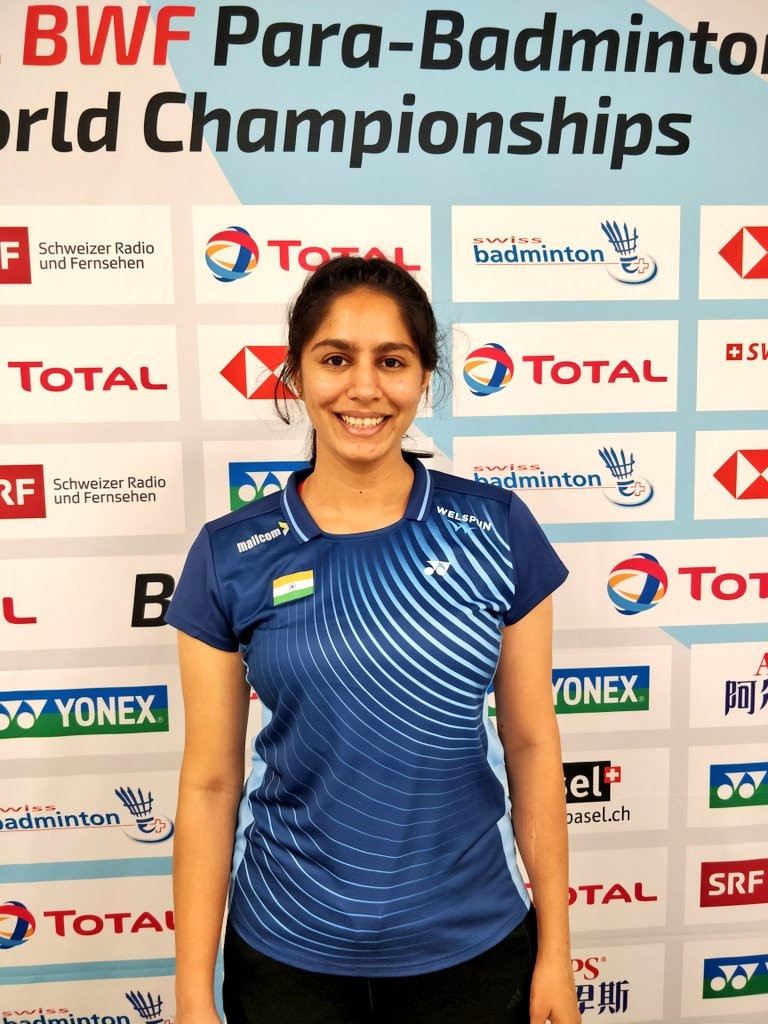 Manasi Joshi won gold at the 2019 BWF Para-Badminton World Championships in Basel ©@joshimanasi11