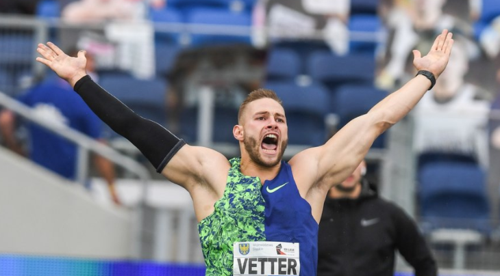 Second best javelin throw ever for Vetter at World Athletics Continental Tour Gold meeting in Chorzow