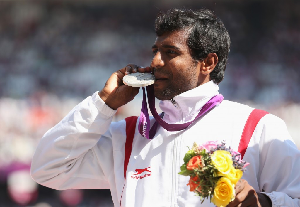 Girisha Nagarajegowda was India's sole Paralympic medallist at London 2012 ©Getty Images