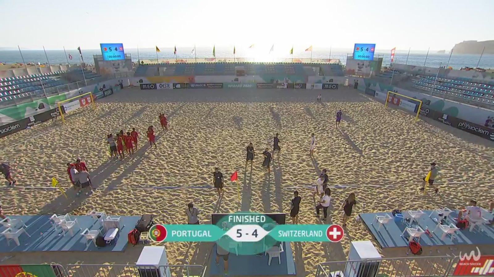 Portugal win nail-biting Euro Beach Soccer League Superfinal crown