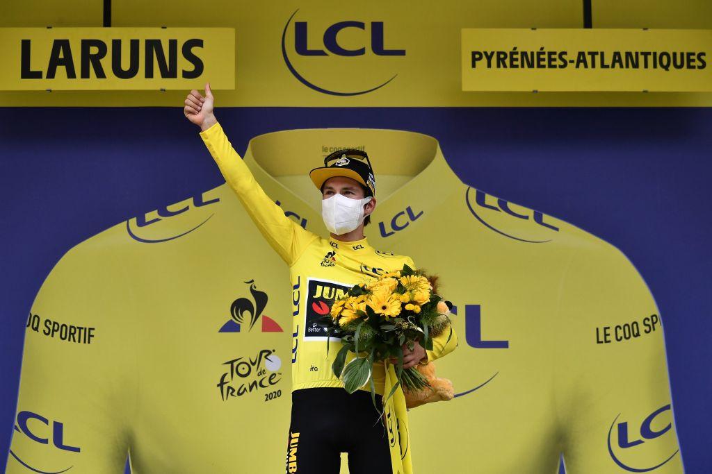 Stage nine belongs to Slovenia as Pogačar wins and Roglič takes yellow