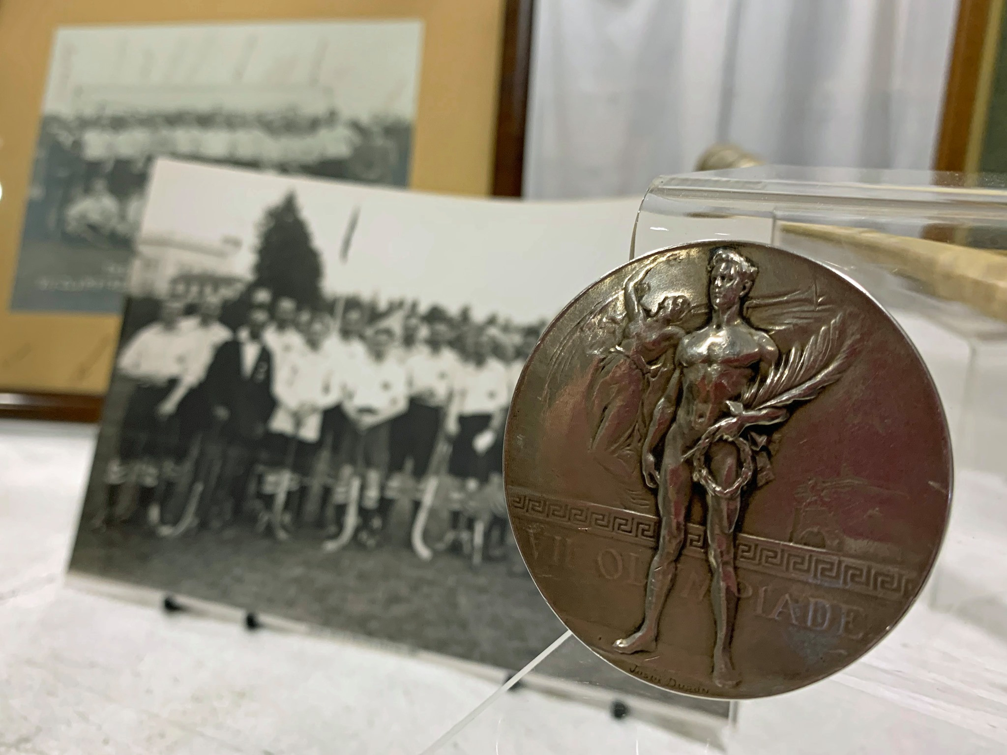 Antwerp 1920 gold medal loaned to The Hockey Museum to celebrate centenary of Britain's victory