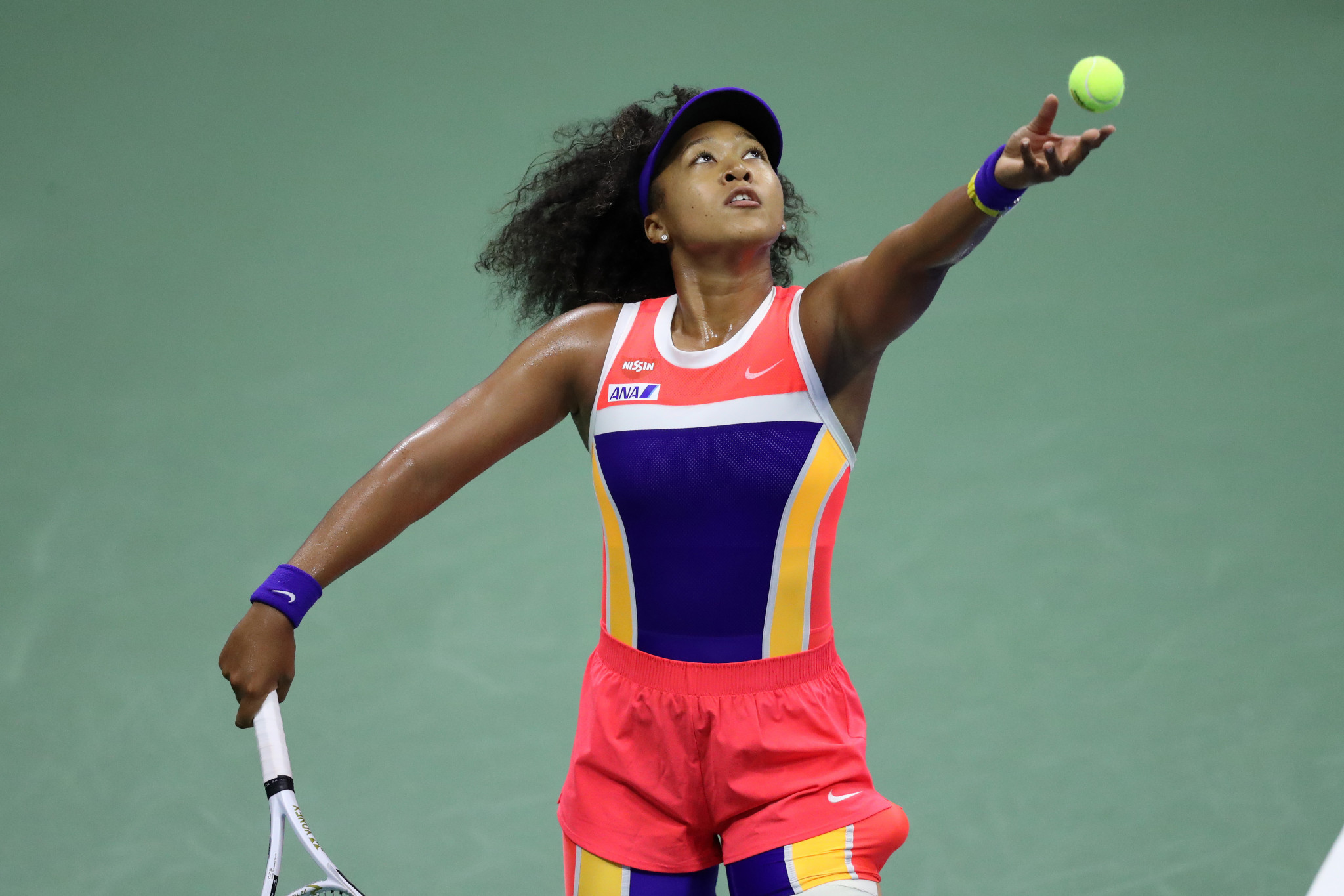 Osaka comfortably through to US Open quarter-finals in straight sets