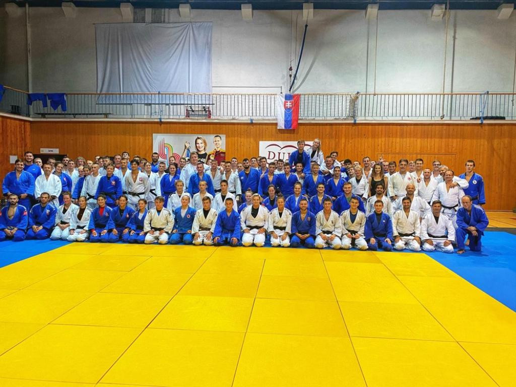 Judokas from six European nations competed in Slovakia ©EJU