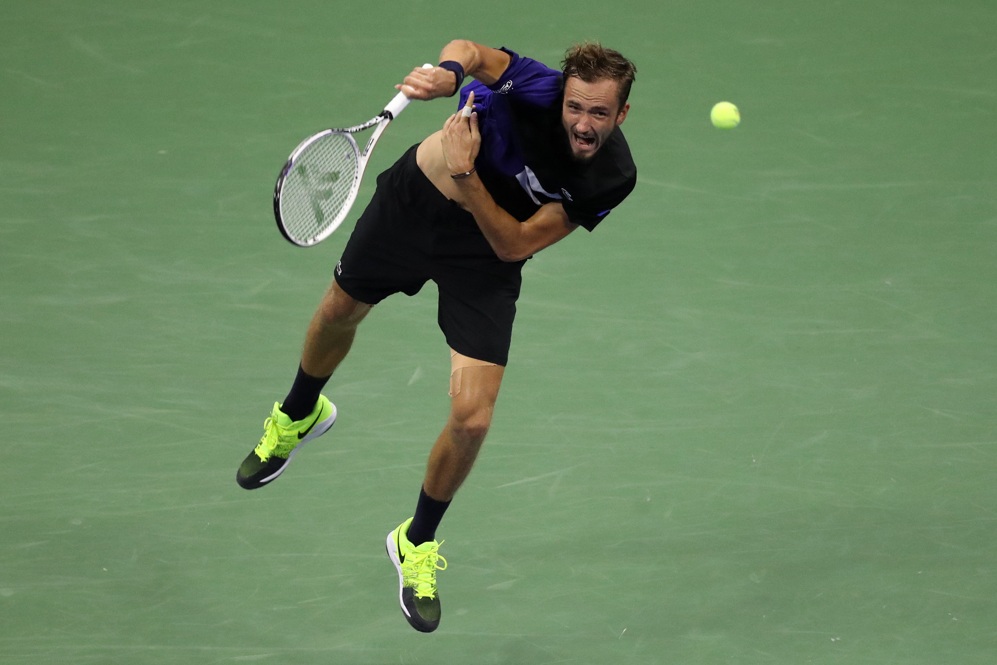 Daniil Medvedev will look to replicate his form from the 2019 US Open ©Getty Images