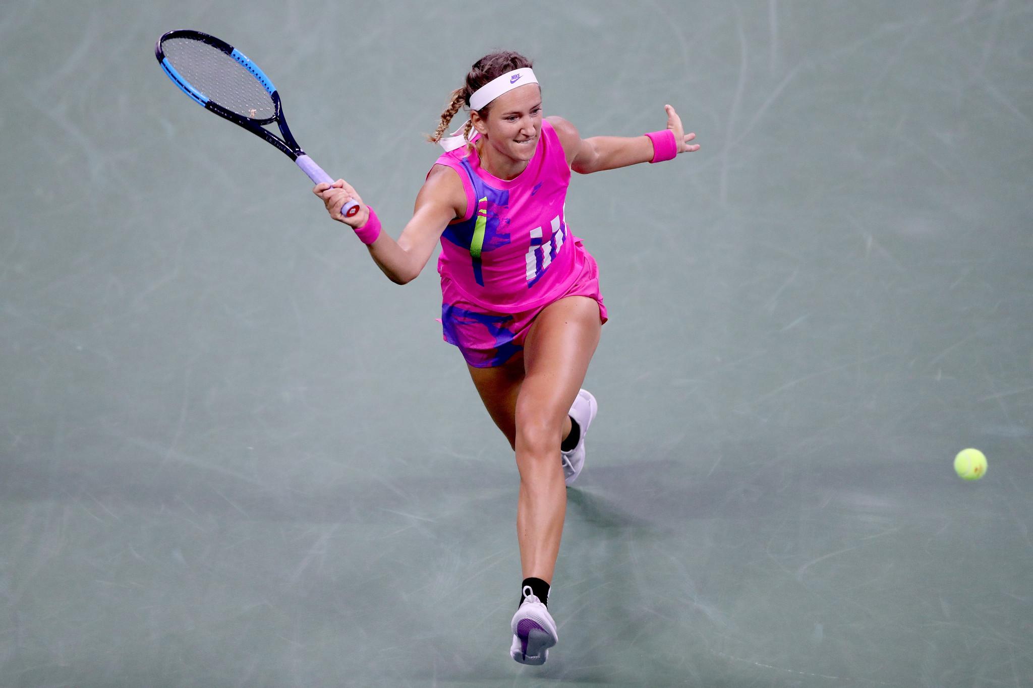 Victoria Azarenka has made her first Grand Slam quarter-final since the 2016 Australian Open ©Getty Images
