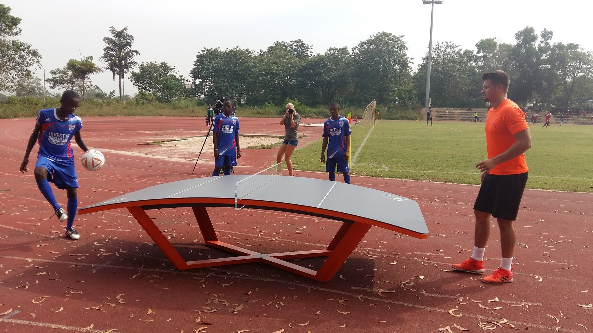 Nigerian teqball official reports rapid growth as sport appeals to all ages