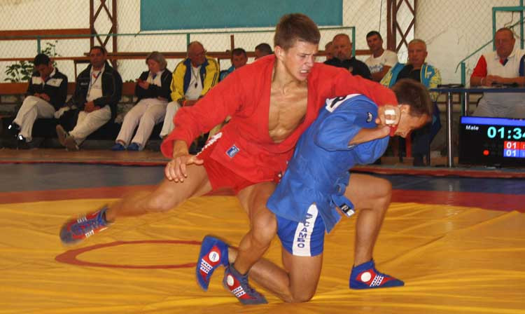 Ukraine holds Youth and Junior Sambo Cups with more than 350 athletes
