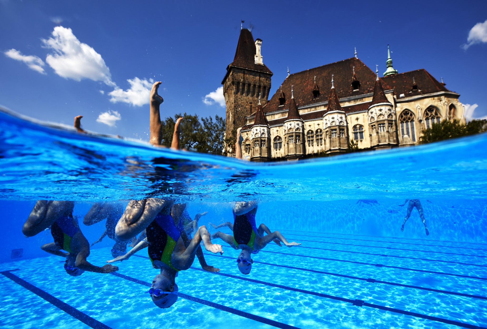 Viktória Csizmadia helped to organise the 2017 FINA World Aquatics Championships in Budapest ©Getty Images