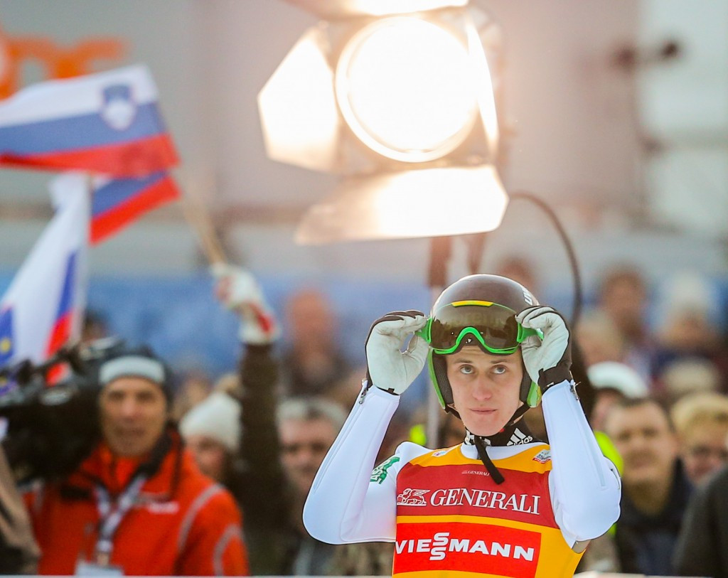 Prevc starts New Year in style with victory at second Four Hills event