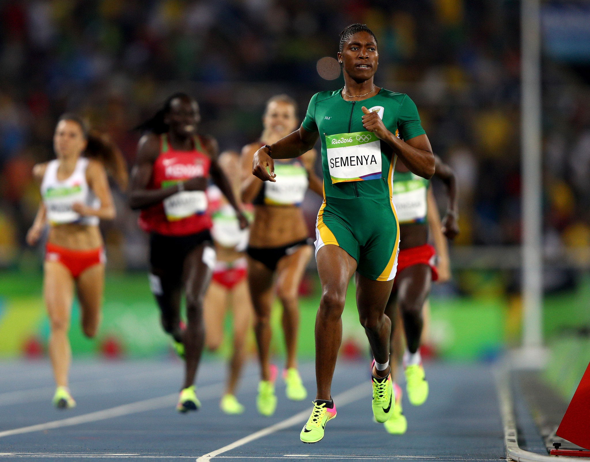 Caster Semenya has won two Olympic titles ©Getty Images