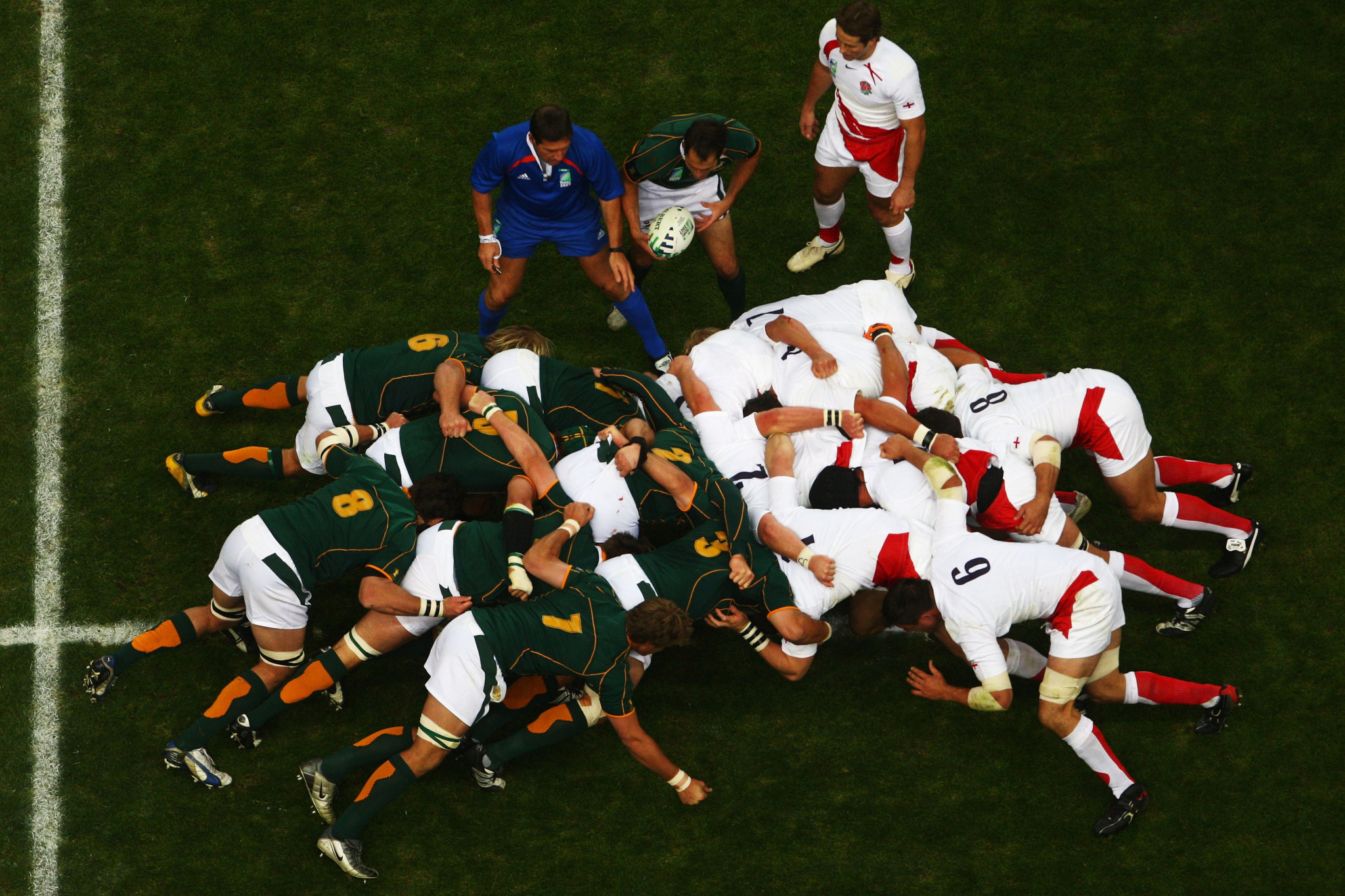 South Africa were victorious when France last hosted the World Cup in 2007 - just as the Springboks were in Japan last year ©Getty Images