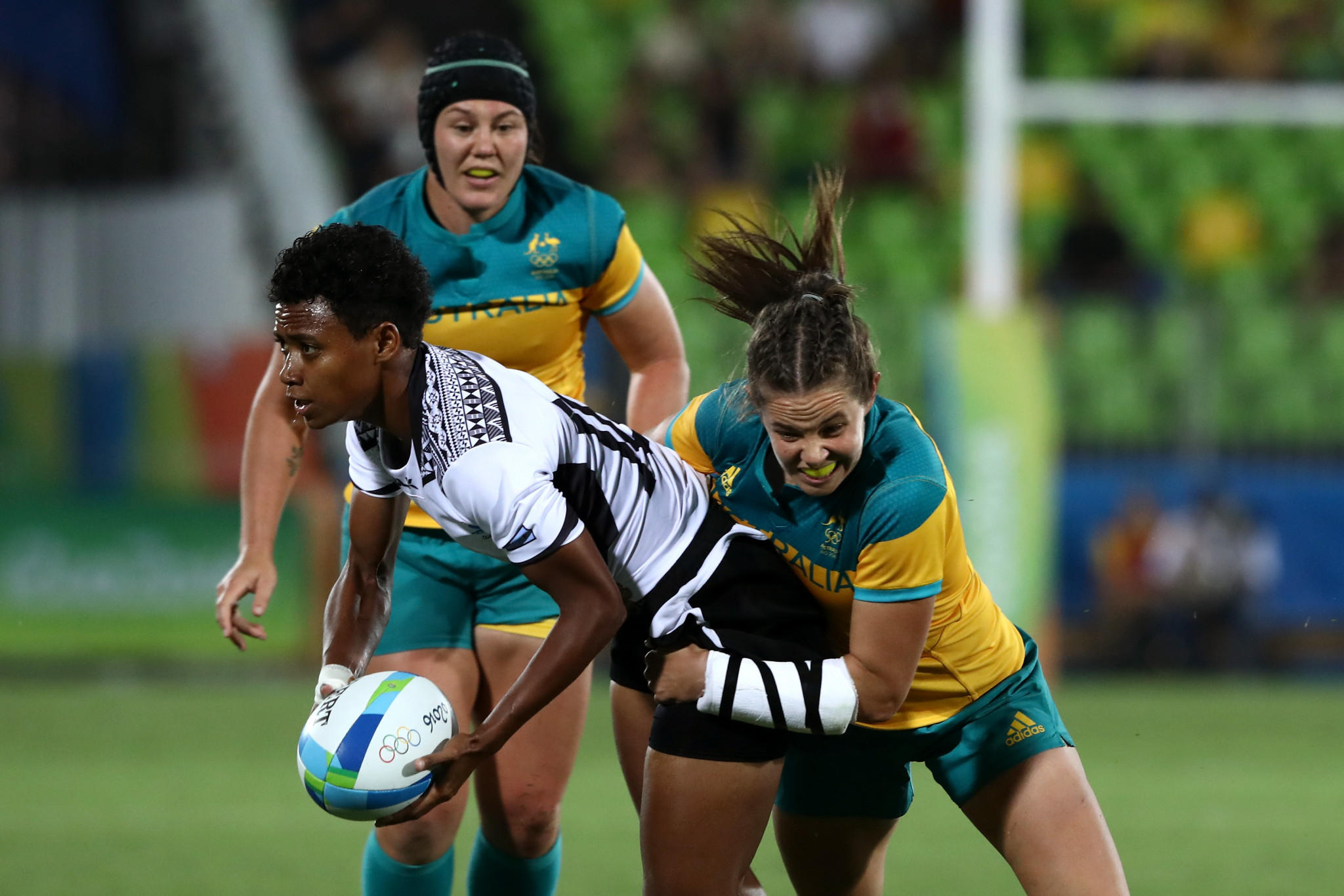 Viniana Riwai played for Fiji's women's rugby sevens team at Rio 2016 ©Getty Images