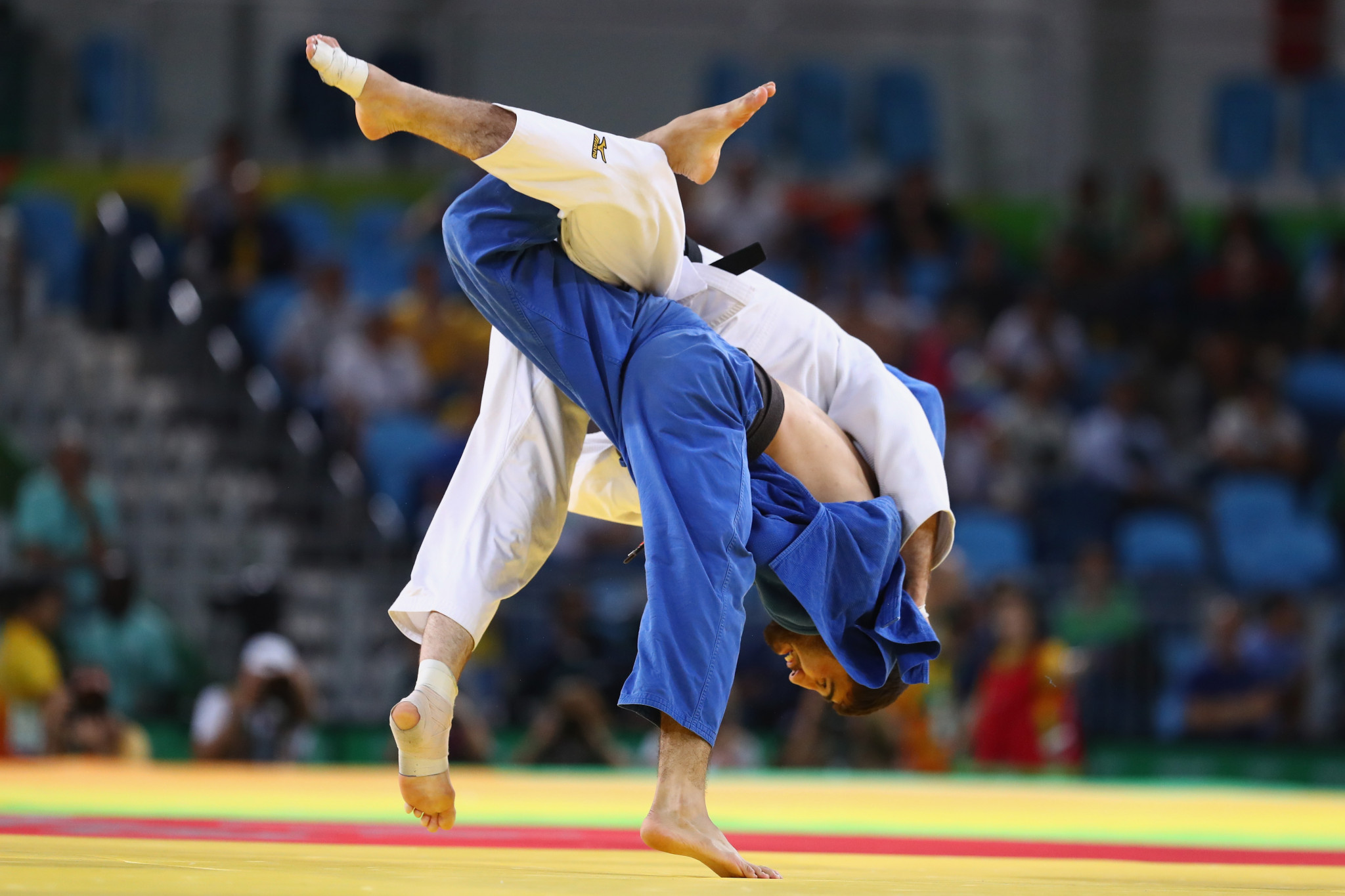 Judo is working towards full resumption following the COVID-19 pandemic ©Getty Images