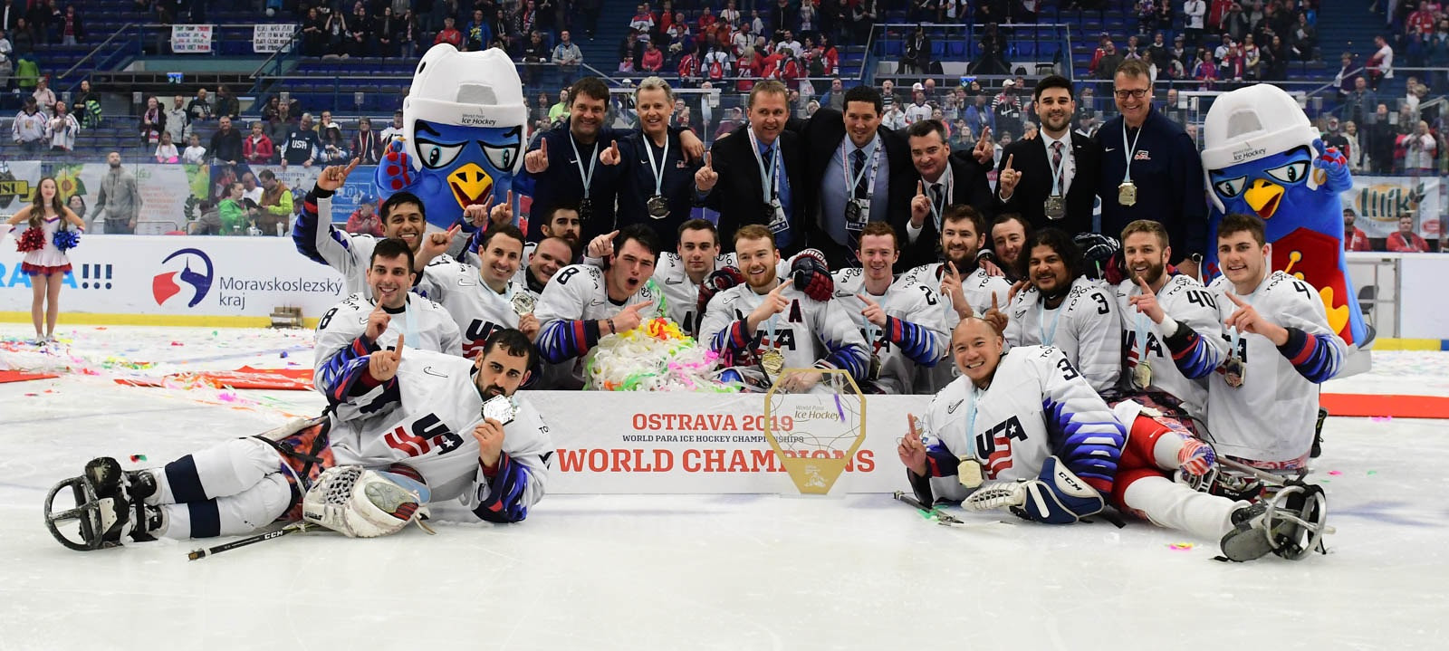 Ostrava to host 2021 World Para Ice Hockey Championships A-Pool with Beijing 2022 places up for grabs