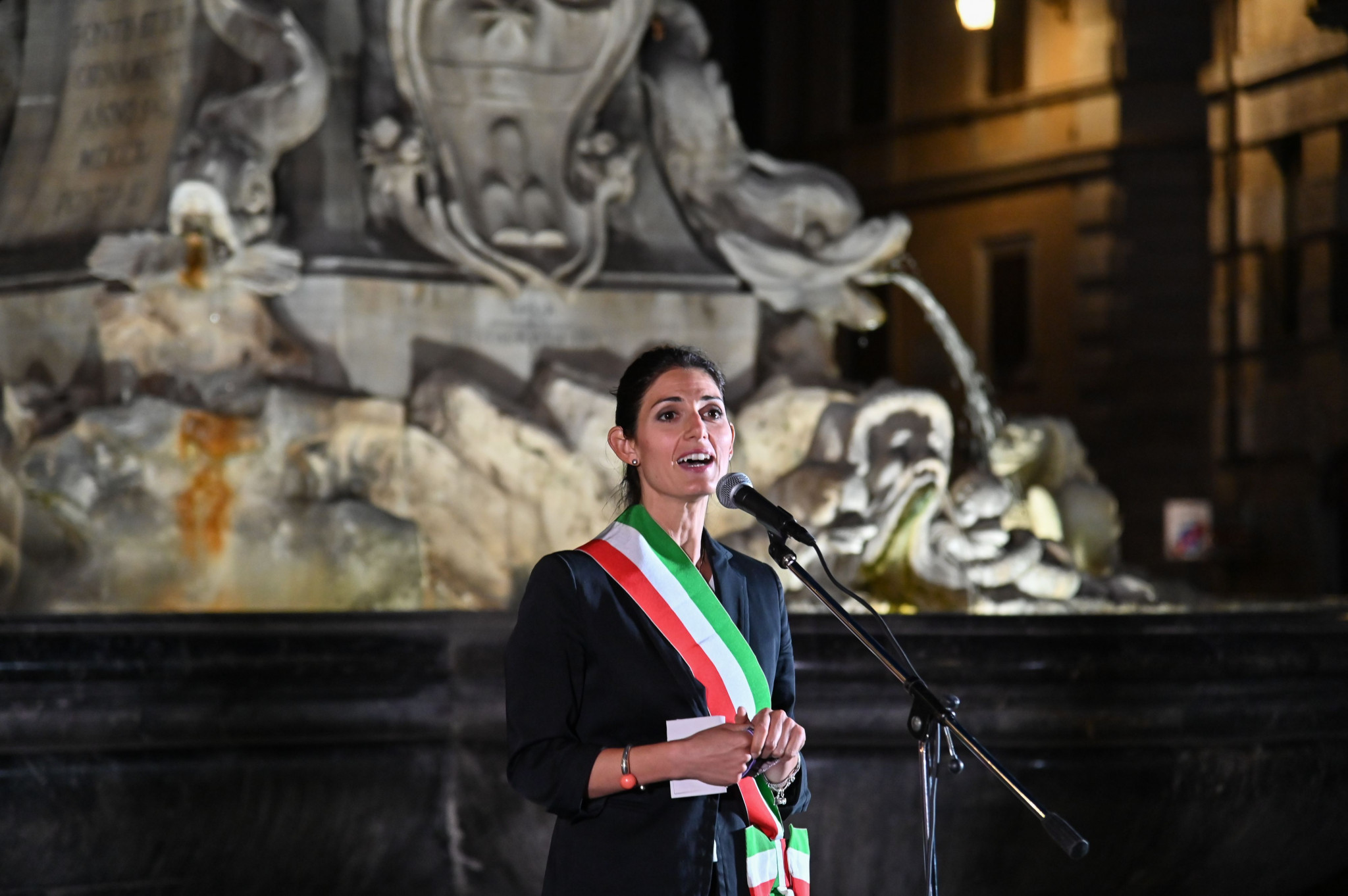 Rome Mayor Virginia Raggi used a previous Saïd Business School study in her reasoning to withdraw the city's bid for the 2024 Olympics ©Getty Images