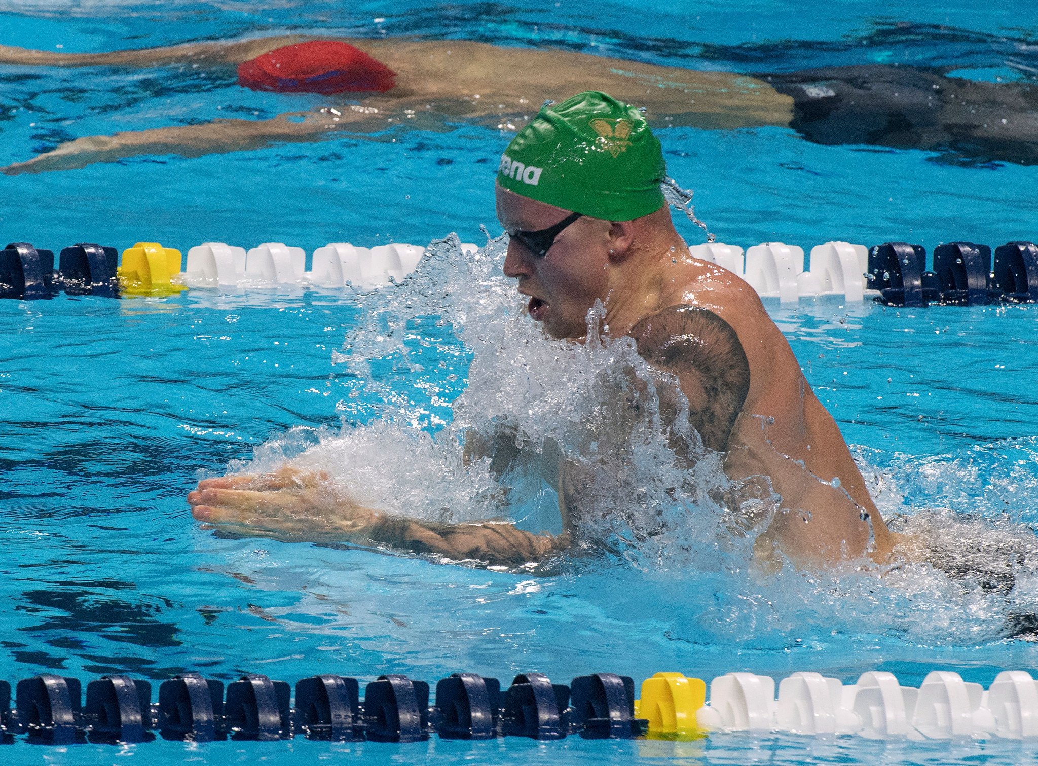 Olympic champion Adam Peaty is expected to star for London Roar ©Getty Images