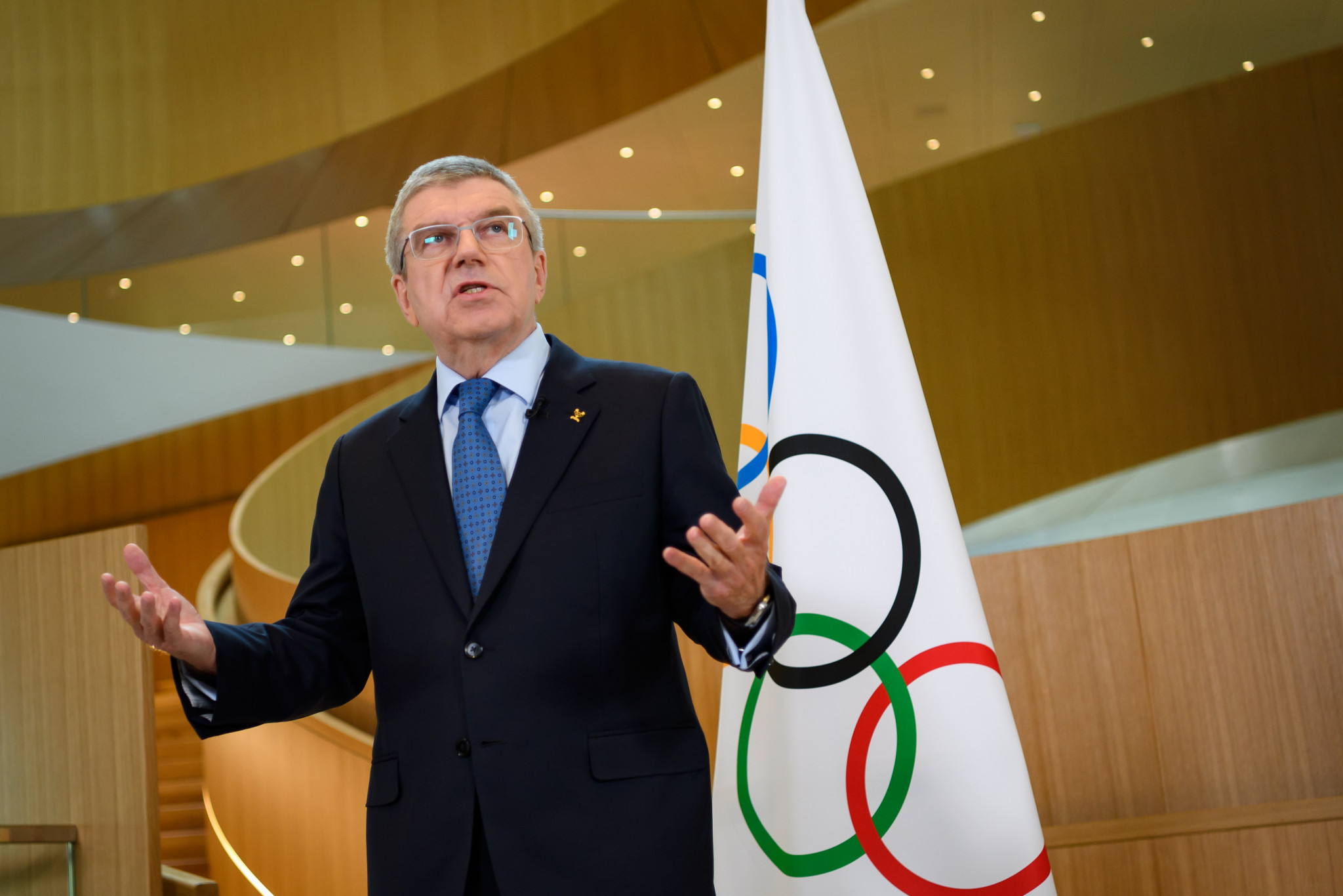 "IOC President Thomas Bach insisted testing and a COVID-19 vaccine is not a ""silver bullet"" for the Olympic and Paralympic Games in Tokyo next year ©Getty Images"