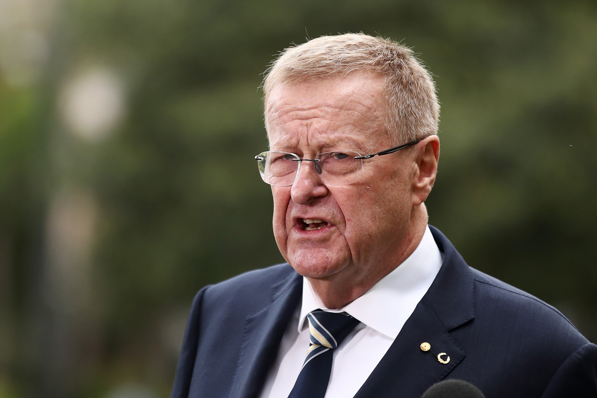 IOC vice-president and Tokyo 2020 Coordination Commission chair John Coates has appeared confident the Olympic and Paralympic Games will take place in the Japanese capital next year ©Getty Images