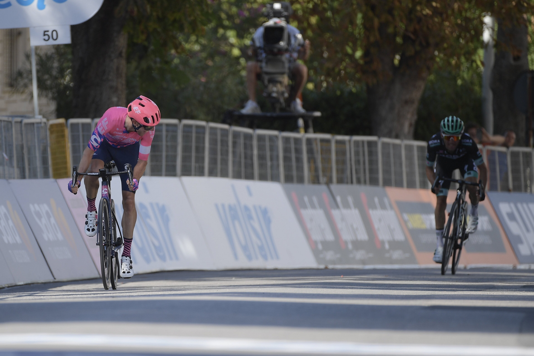 Woods proves too strong for Majka in stage three to lead Tirreno-Adriatico