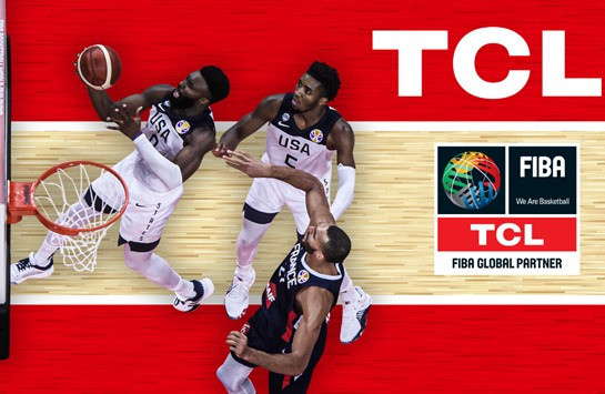FIBA and TCL will partner until the end of 2023 ©FIBA