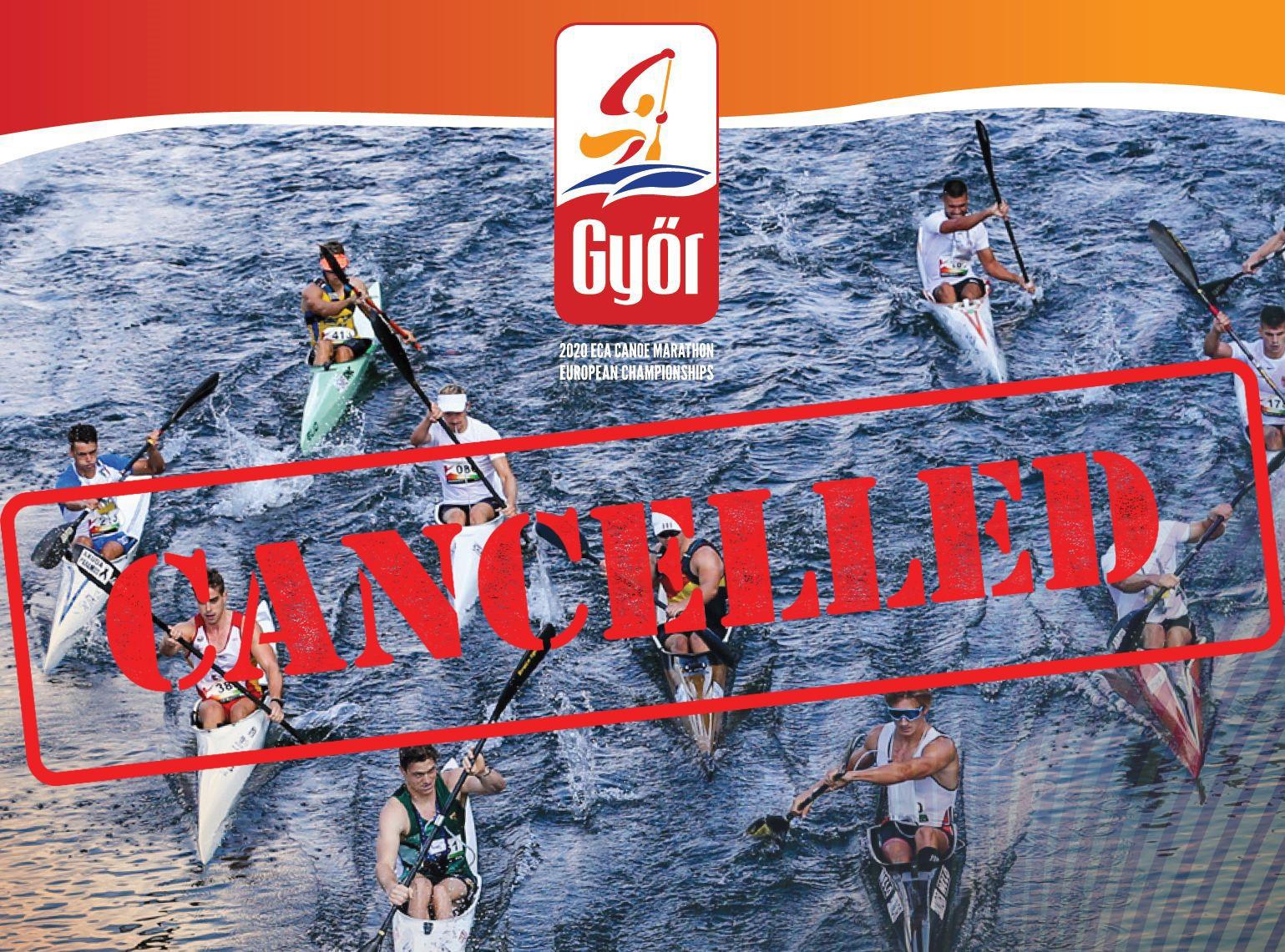 Canoe Marathon European Championships cancelled due to coronavirus