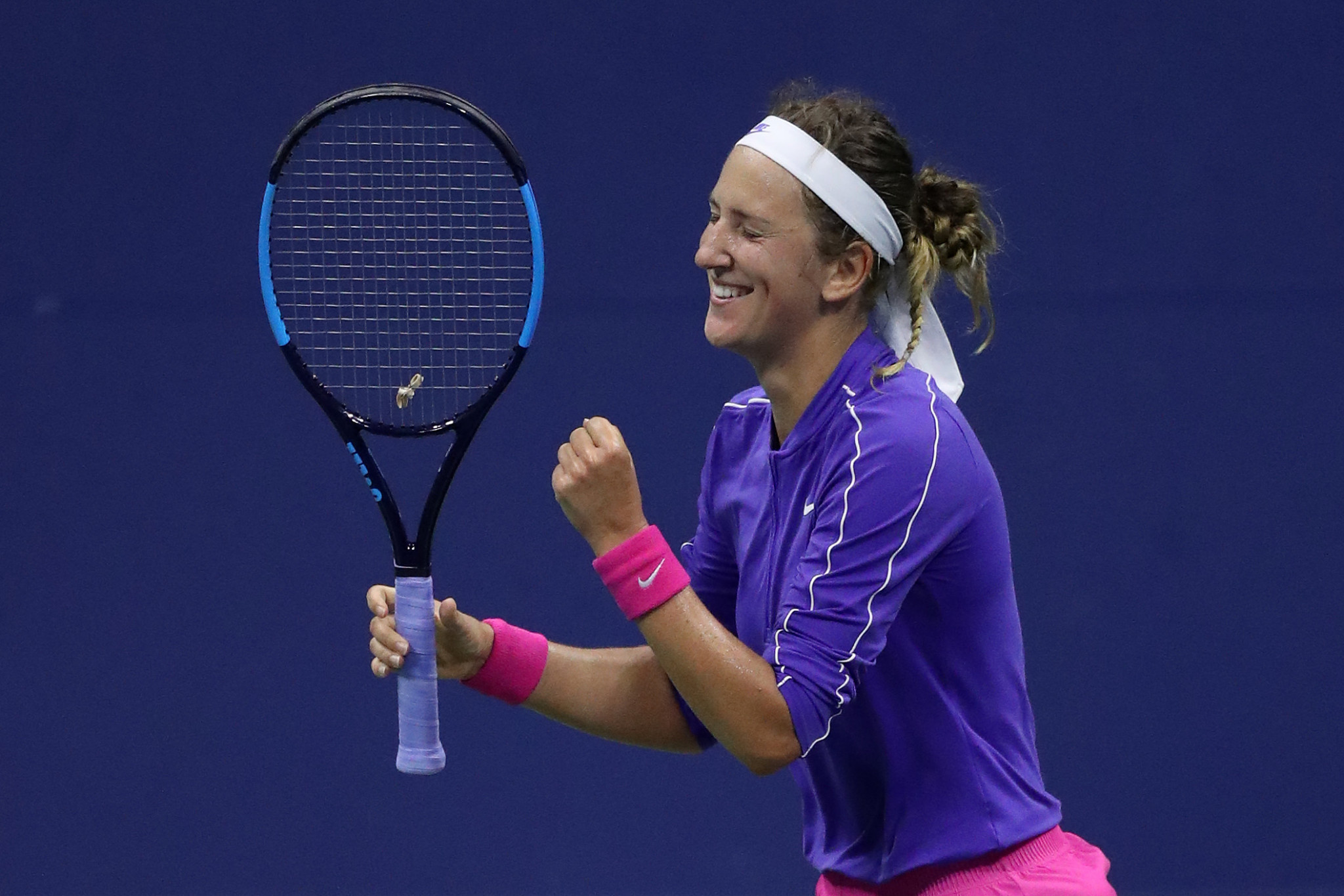 Azarenka and Thiem complete US Open semi-final line-up