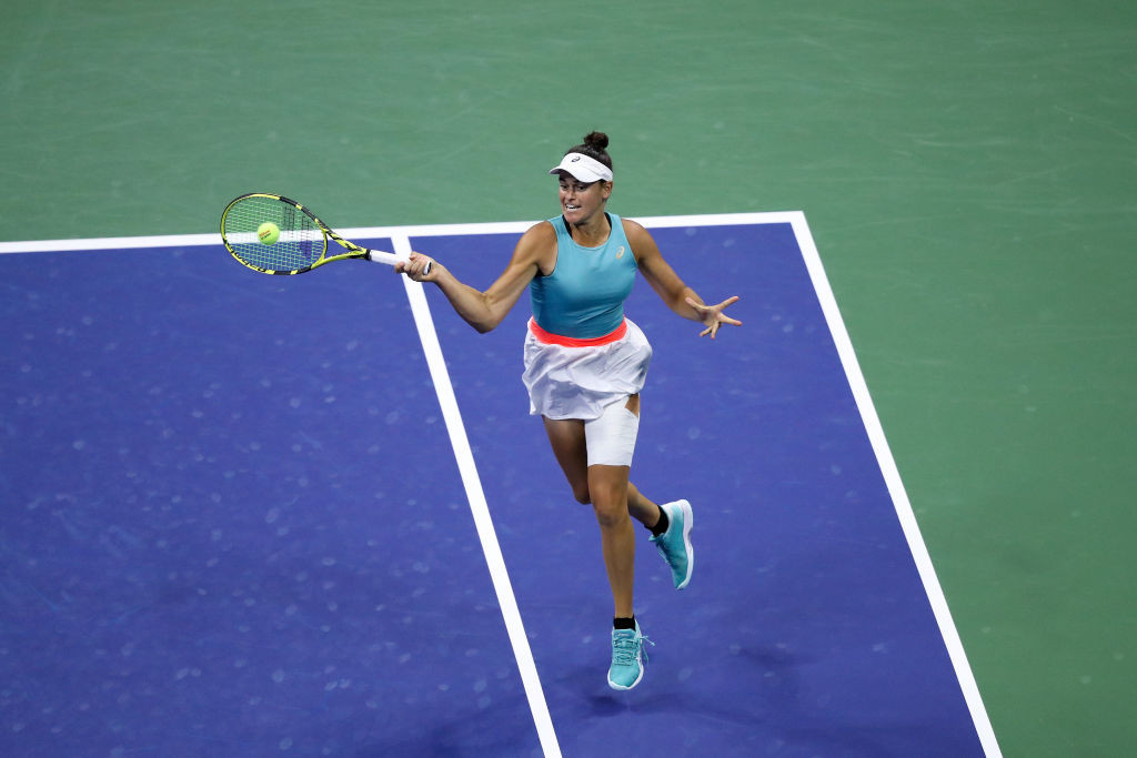 American Brady, seeded 28th, hit back to take contest to a decider ©Getty Images