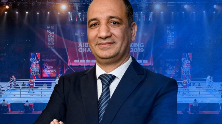 AIBA has been led by Interim President Mohamed Moustahsane since March 2019 ©AIBA