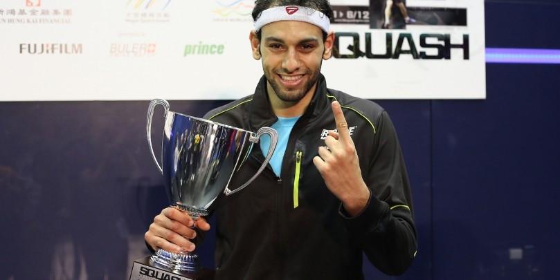 Egypt's Mohamed Elshorbagy has returned to the top of the men's world rankings