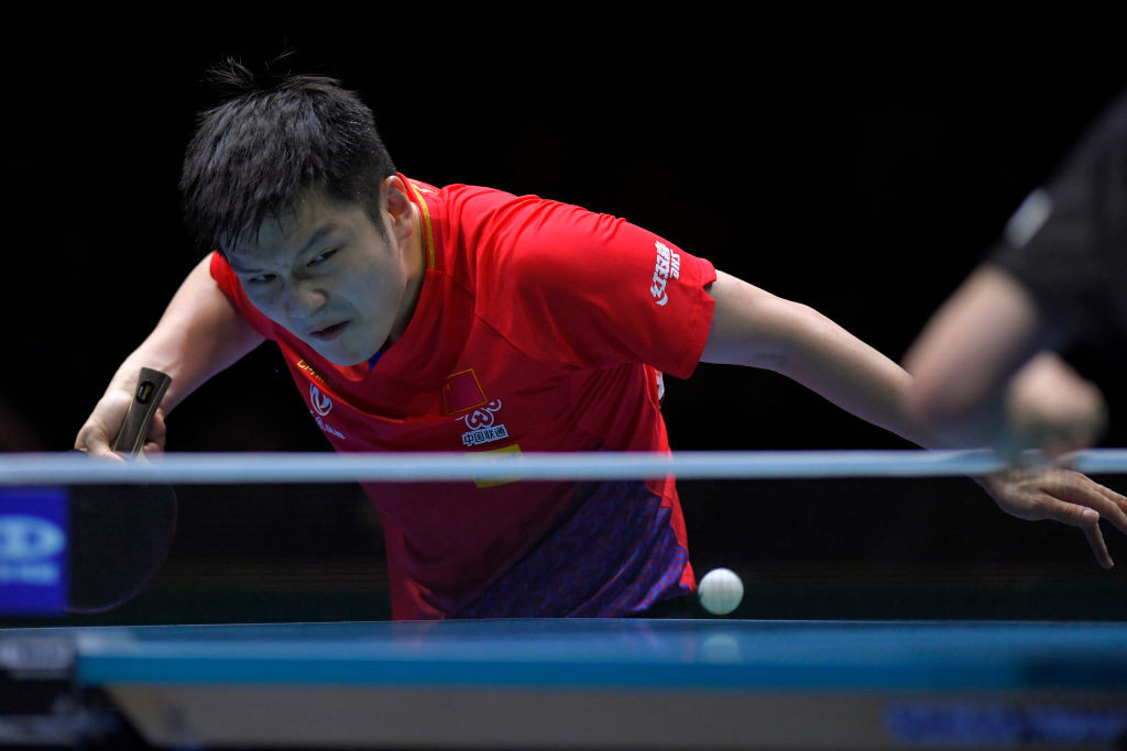 Fan Zhendong is among those who could be in action at the event in Macau ©Getty Images