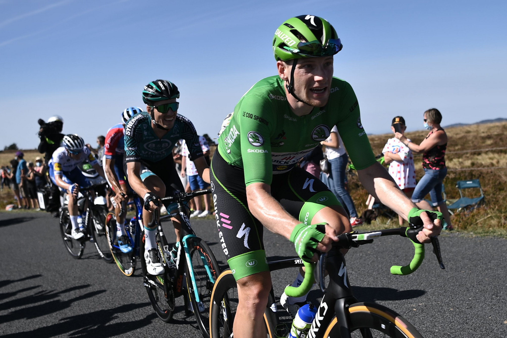 Sam Bennett, the green jersey, was among those dropped ©Getty Images