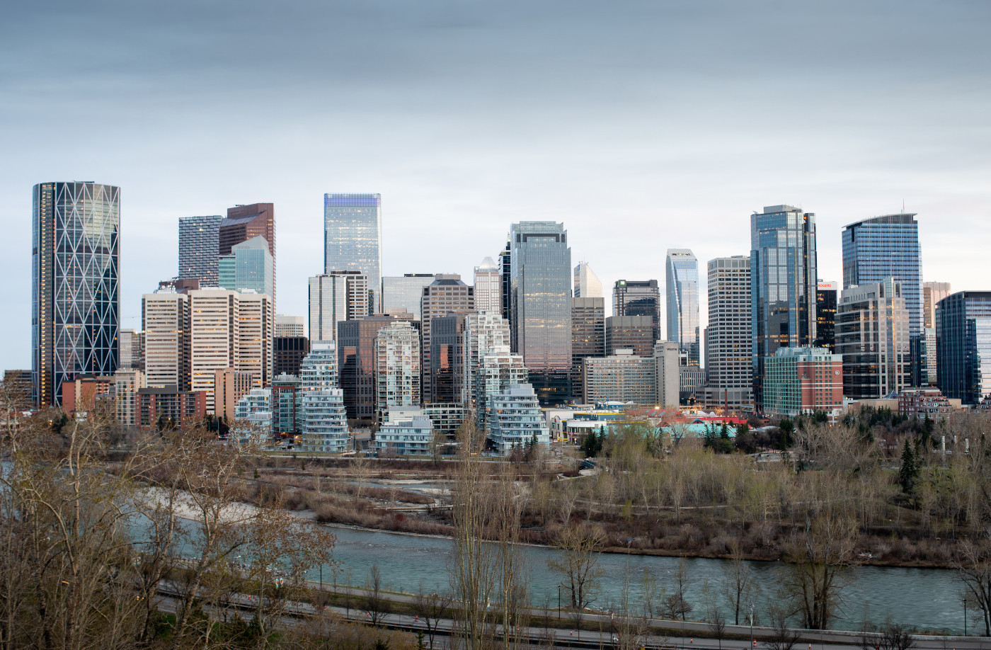 Calgary in Canada is aiming to become a hub city for winter sports during the coronavirus pandemic ©Wikipedia