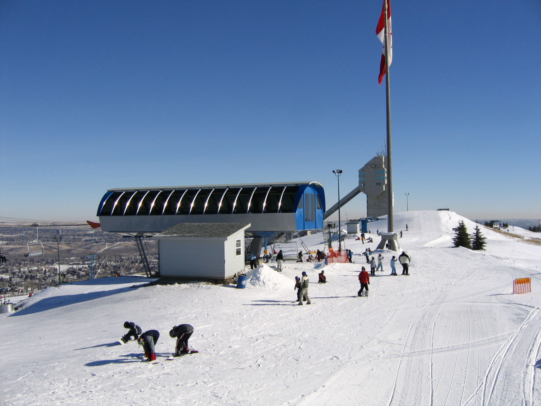 The Canada Olympic Park could be used as a winter sport hub in Calgary ©Wikipedia