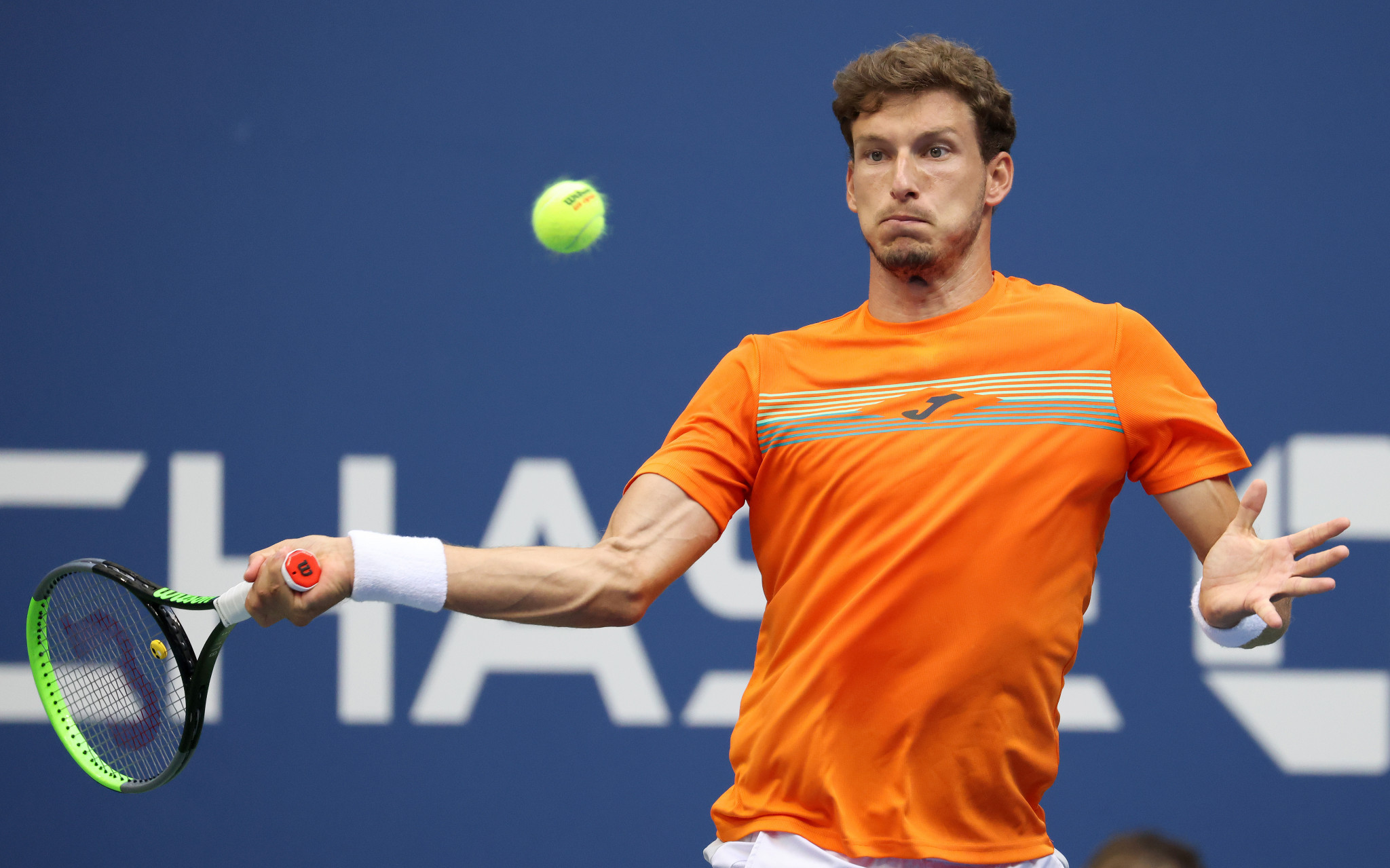 Carreno Busta, the 20th seed, took a two set lead over Zverev before the German's impressive fightback ©Getty Images